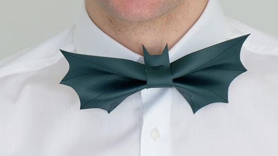 ハロウィンにピッタリ かっこいいコウモリの蝶ネクタイの作り方 無料